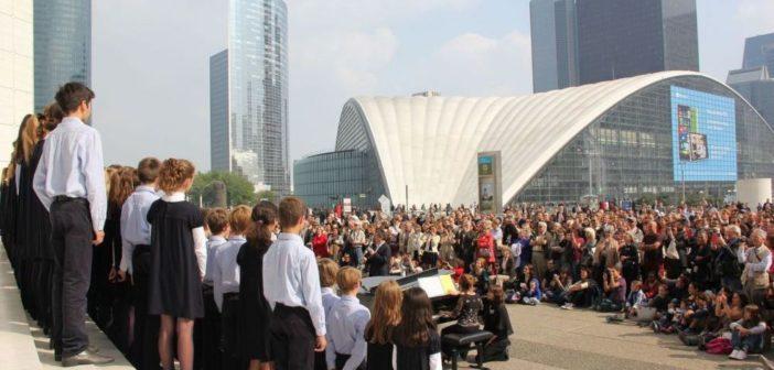 Concert de musique classique sur le Parvis de la Défense