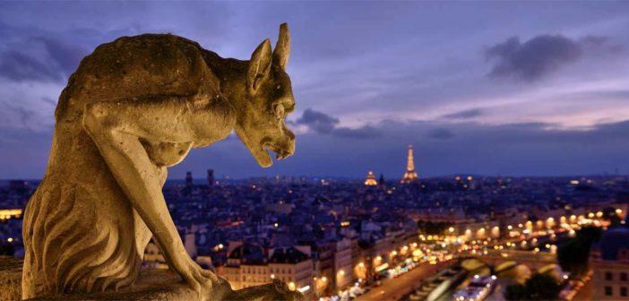 Une gargouille de la Cathédrale Notre Dame de Paris
