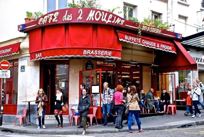 Café des deux Moulins d'Amélie Poulain à Montmartre