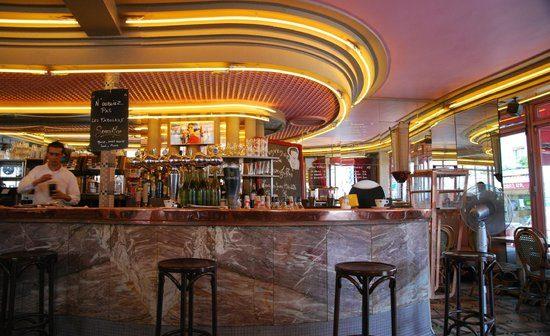 La bar du café des deux Moulins