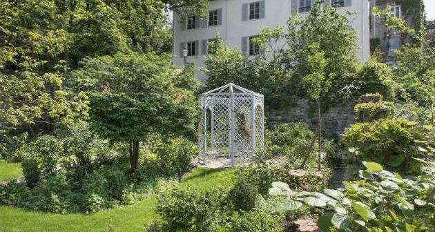 Les jardins de Renoir du Musée de Montmartre