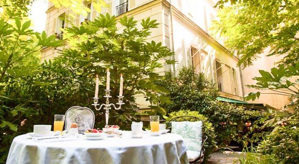 Diner à l'hotel particulier Montmartre