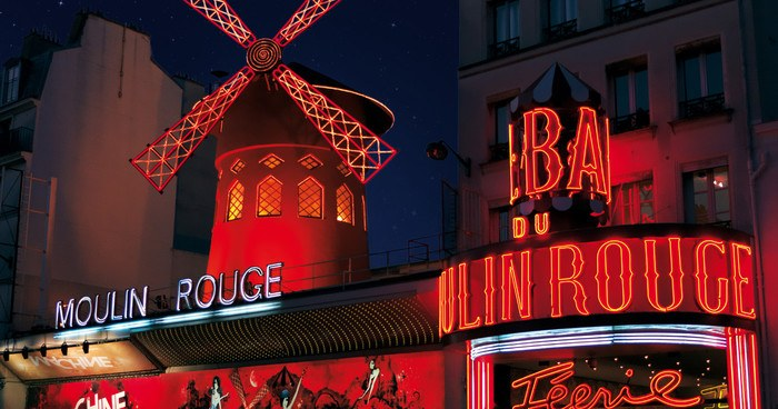 Visiter Paris et passer une soirée au Moulin Rouge