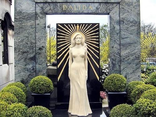 La Tombe de Dalida au cimetière Montmartre