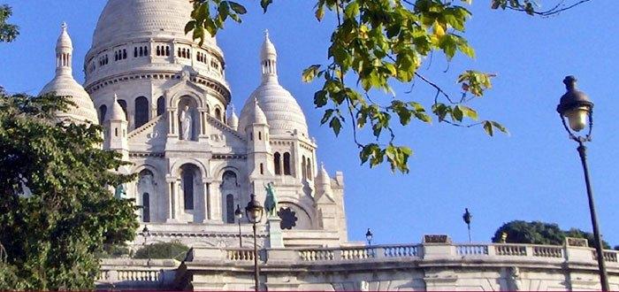 La pierre blanche de la La Basilique du Sacré Cœur