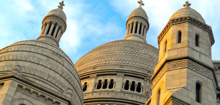 Les coupoles de la Basilique du Sacré Cœur