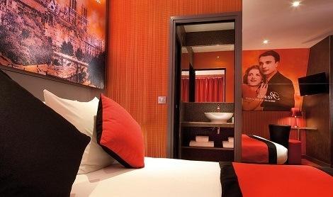 Hotel Montmartre : l'Hôtel Montmartre Mon Amour