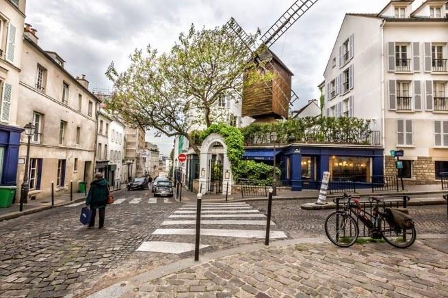 Visiter Montmartre : le Moulin de la Galette