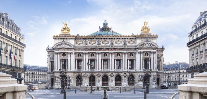 L'opéra Garnier dans le 9ème arrondissement de Paris