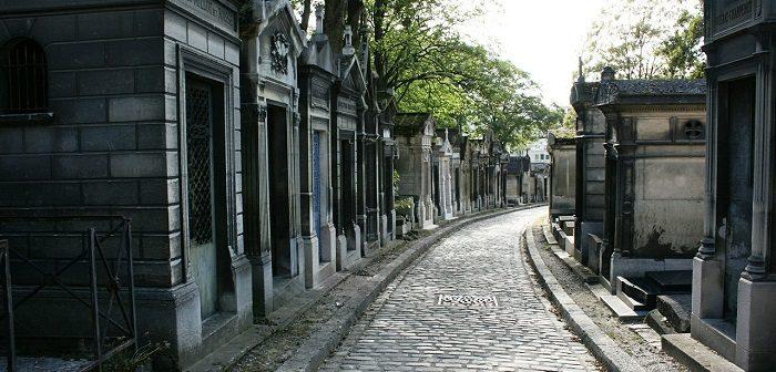 Le cimetière du Père Lachaise dans le 20ème arrondissement