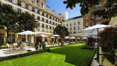 sélection de palaces de Paris