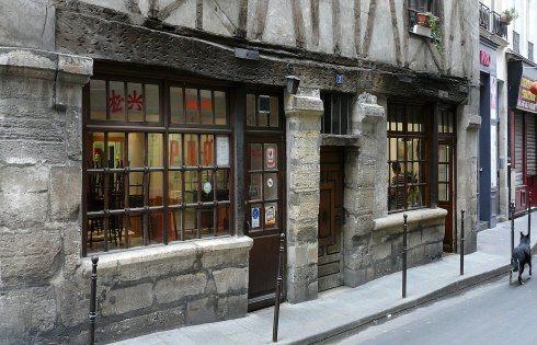 La plus vieille maison de Paris dans le 3ème arrondissement