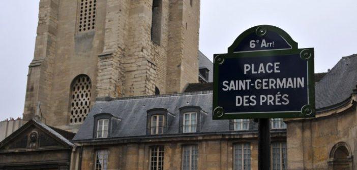 Place Saint Germain des Près dans le 6ème arrondissement de Paris