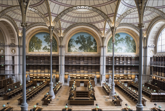 Bibliothèque d'histoire de l'art.