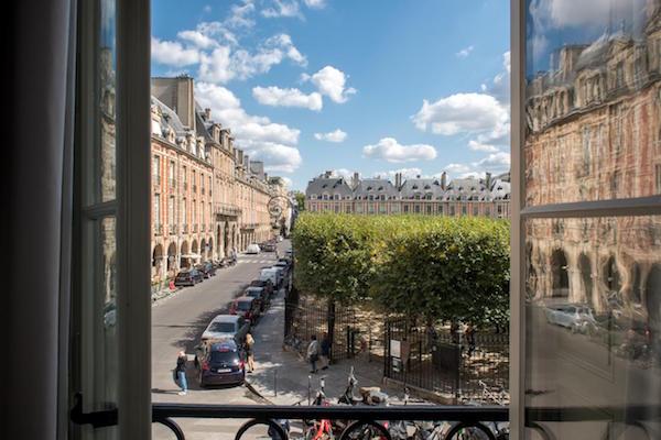 Les hôtels du Marais.