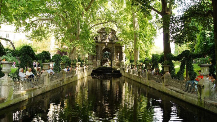 La fontaine Médicis.