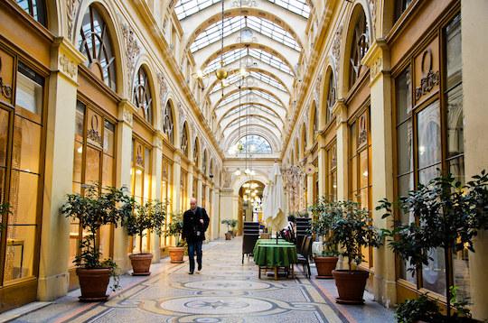 Lieux insolites de Paris : galerie Vivienne.