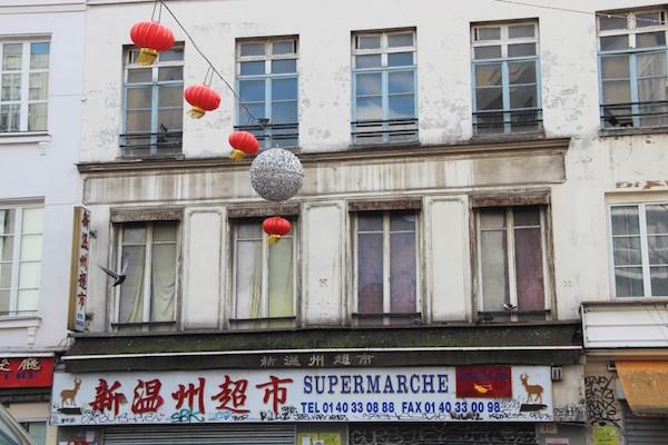 Visiter le quartier chinois à Paris.