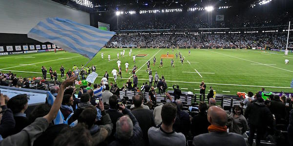 U Arena pour le rugby.