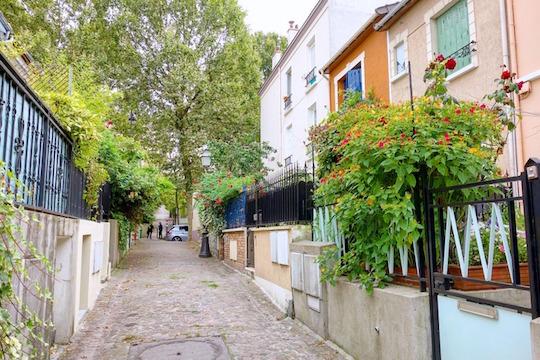 Le quartier Mouzaïa.