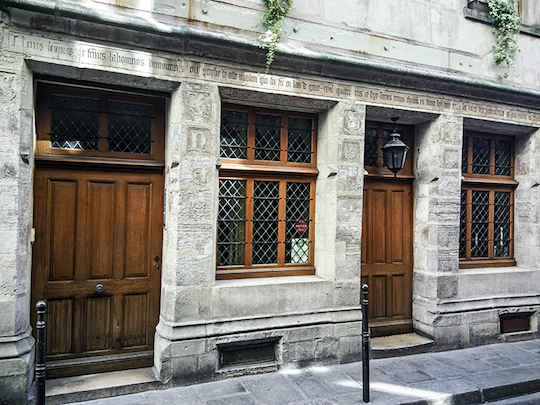Maison Nicolas Flamel.