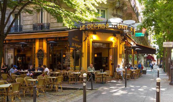 Les restaurants du Marais.