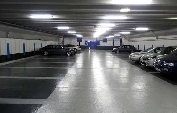 Un parking à la défense.