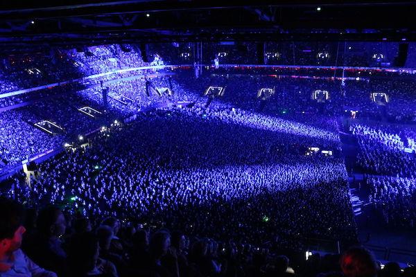 Concert à Paris la Défense Arena.